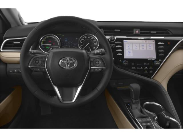 2019 Toyota Camry Hybrid Xle Toyota Dealer In Laconia New
