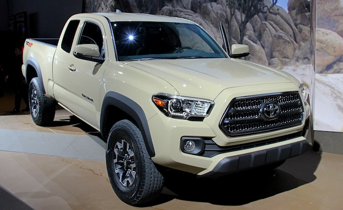 2016 toyota tacoma revealed at auto show irwin toyota product release. Black Bedroom Furniture Sets. Home Design Ideas
