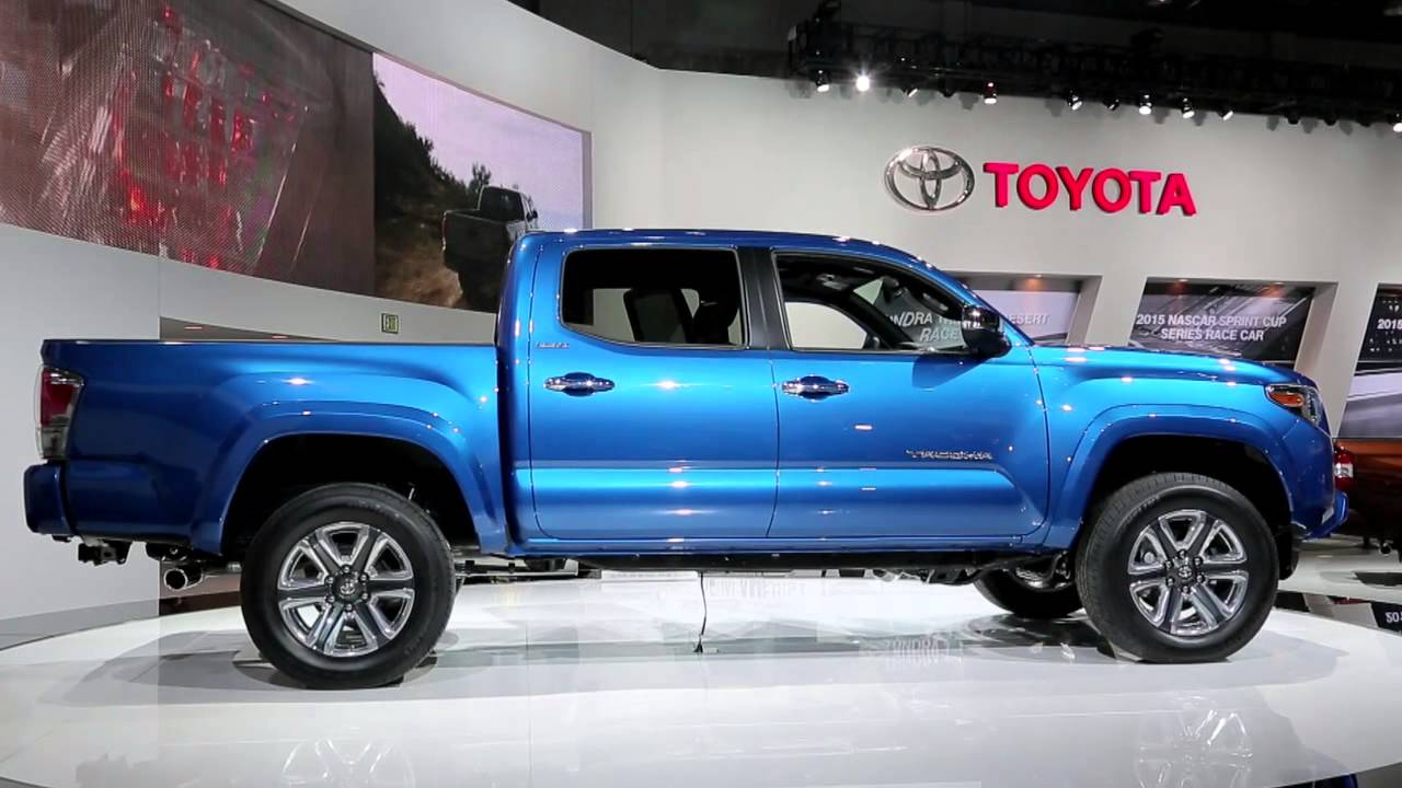2016 Toyota Tacoma Arrives in Laconia NH in September ...