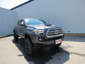 2016 Toyota Tacoma TRD Sport with a Lift Kit   Irwin Toyota News