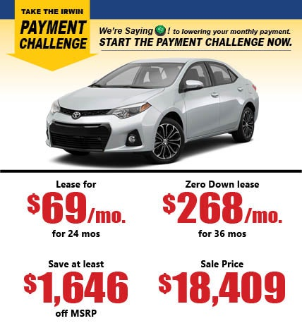 New Toyota Specials